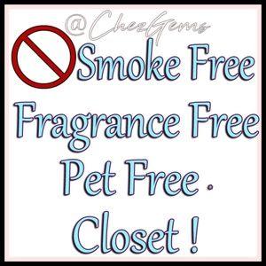 Full Disclosure Smoke, Pet, Fragrance Free Closet